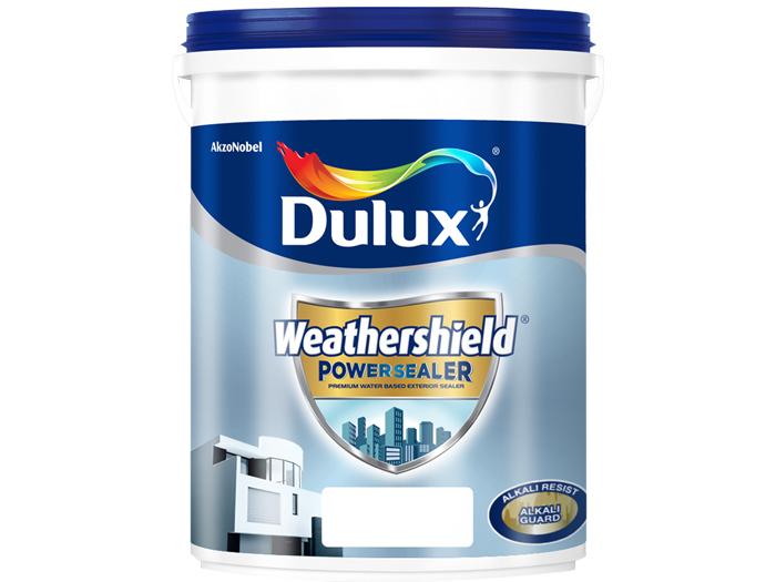 Sơn lót ngoại thất Dulux weathershield powersealer siêu cao cấp 18L-1