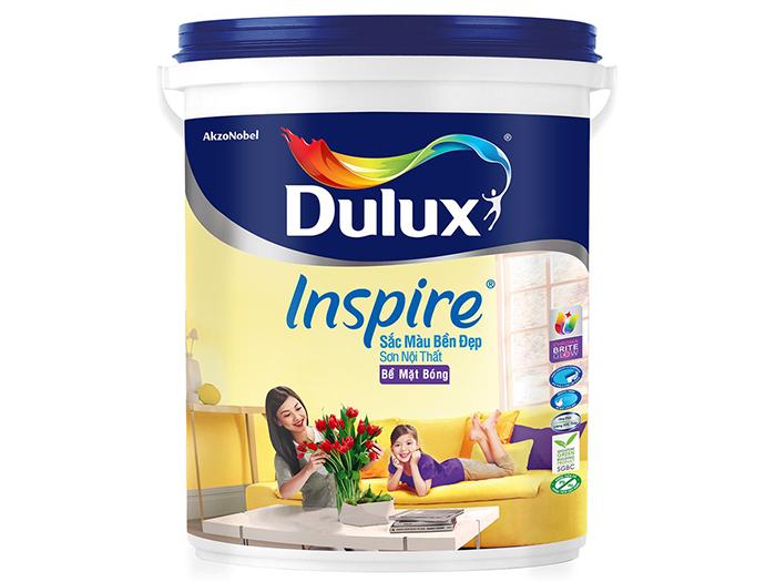 Sơn nội thất Dulux InSpire-Bóng-39AB 18L-1