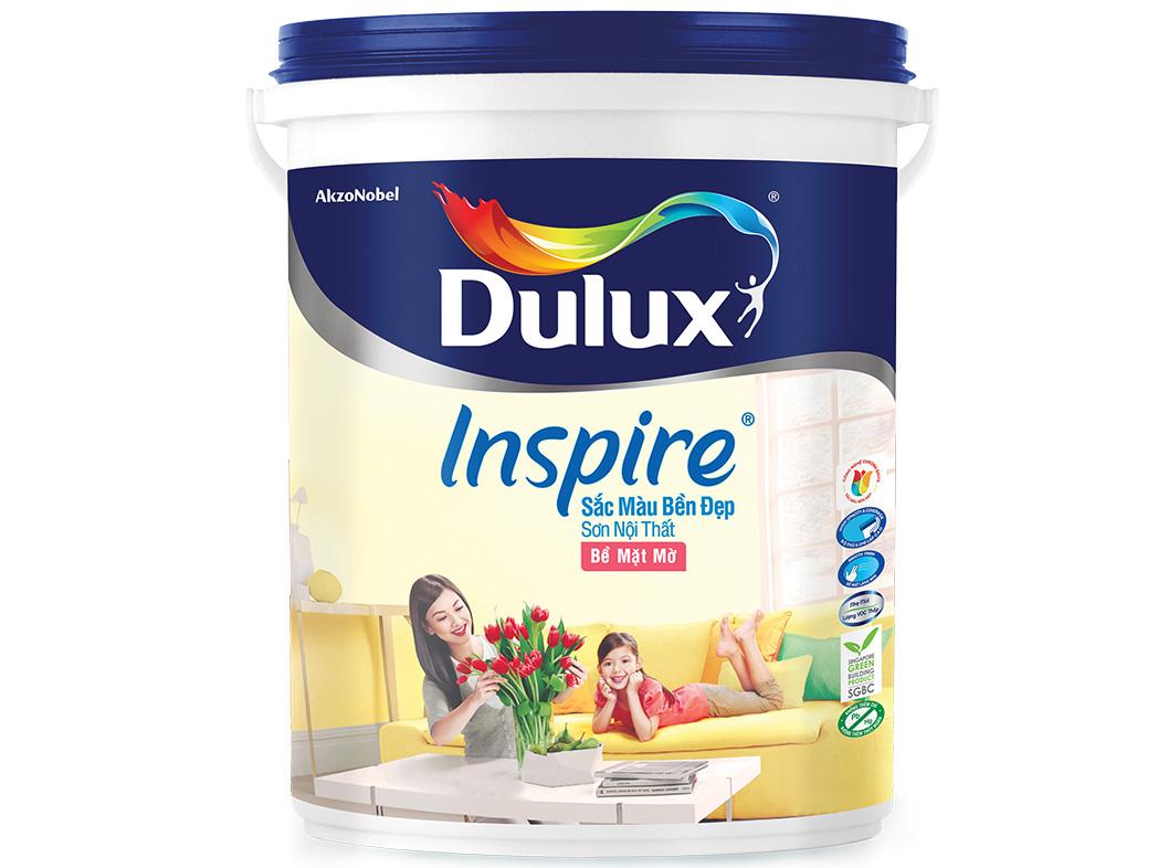 Sơn nội thất Dulux InSpire mờ 39A 5L-1