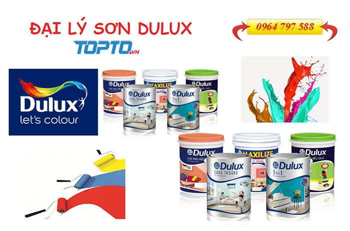 Toto đại lý sơn Dulux chính hãng