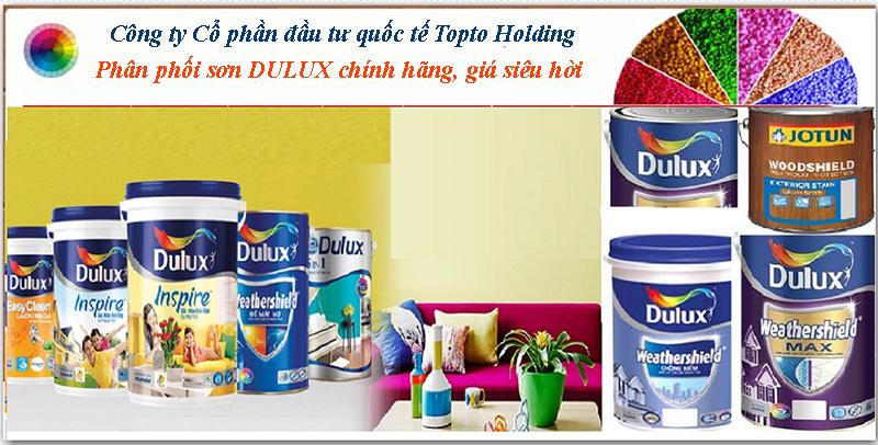 Topto địa điểm cung cấp sơn Dulux chính hãng giá rẻ
