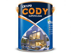 Sơn bóng chống thấm nước Oexpo cody superclean 4,375L