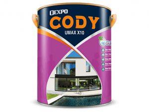 Sơn chống thấm cao cấp Oexpo cody umax X10 18L