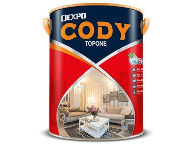 Sơn ngoại thất cao cấp bóng, bền màu tối đa - Oexpo cody uv shape for exterior 4,375L