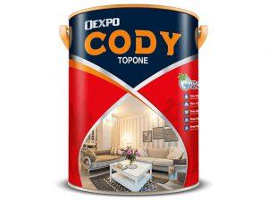 Sơn nội thất cao cấp bóng cứng - Oexpo cody topone 4,375L