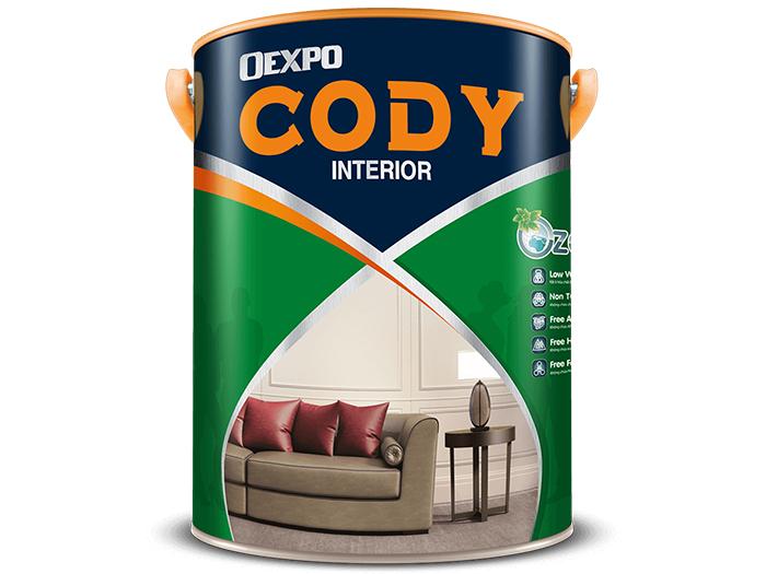 Sơn nước nội thất chất lượng cao OExpo Cody Interior 18L