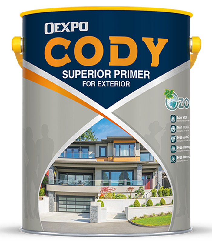 Sơn lót ngoại thất OExpo Cody Superior Primer For Exterior-1