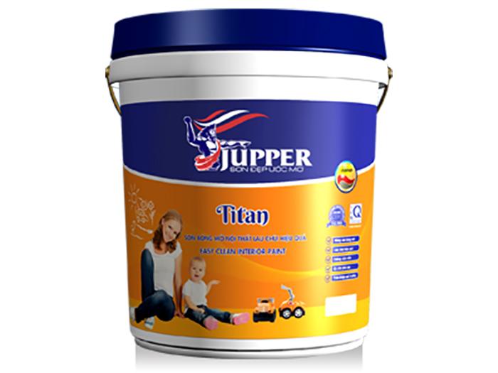 Sơn bóng mờ Jupper Titan nội thất cao cấp