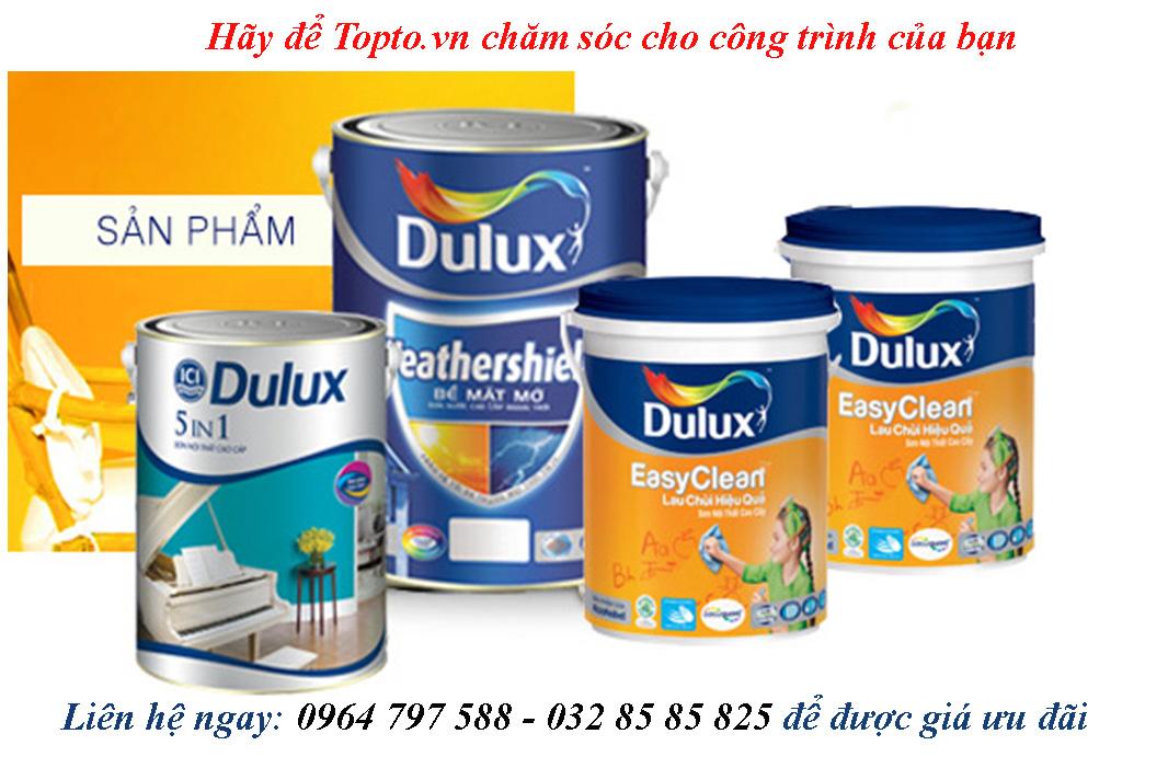 Topto địa chỉ phân phối sơn Dulux chính hãng cao cấp