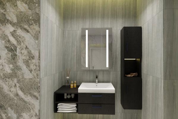 Cách bố trí gương nhà tắm thông minh