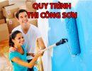 Hướng dẫn quy trình sơn nhà mới xây chuẩn đẹp