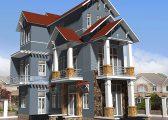 Màu sơn nhà đẹp bên ngoài nào là xu hướng 2021