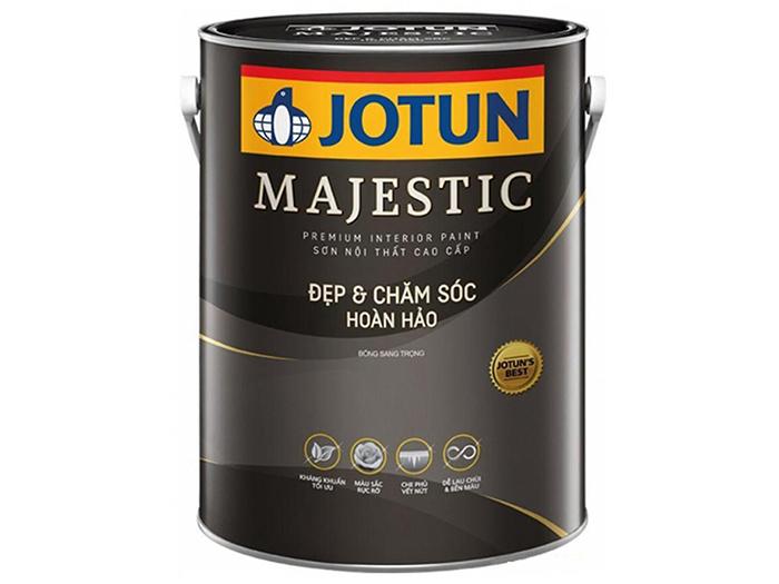 Sơn nước nội thất Jotun Majestic đẹp và chăm sóc hoàn hảo