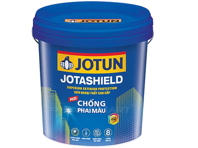 Sơn ngoại thất Jotun Jotashield chống phai màu mới
