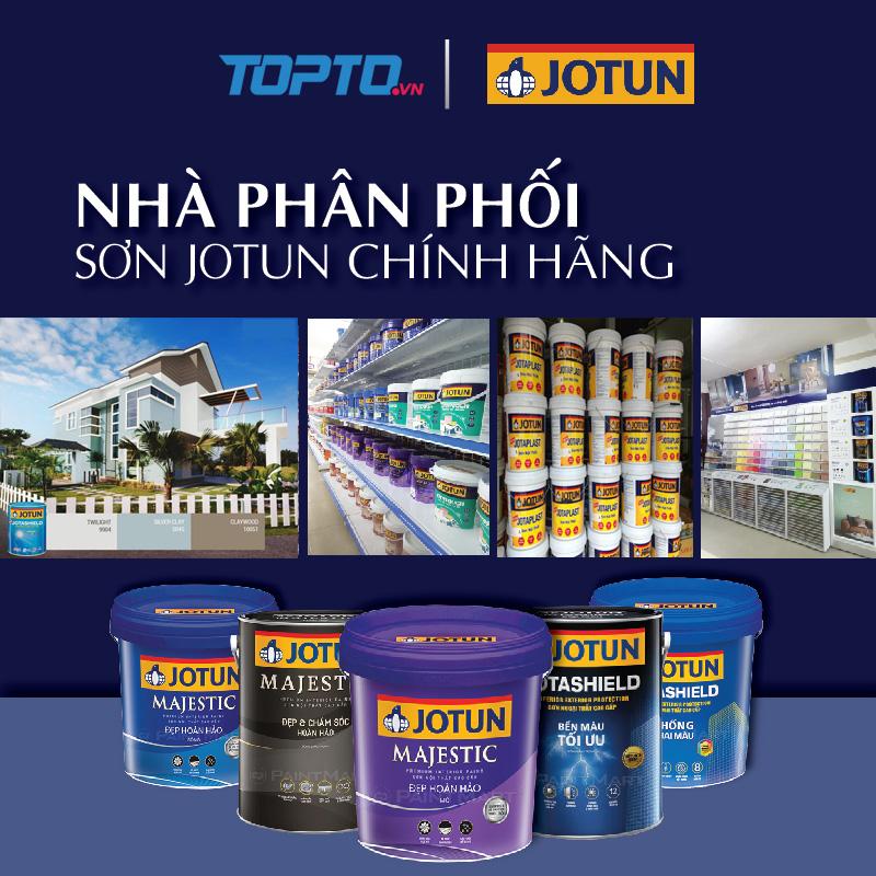 Topto đại lý phân phối sơn Jotun số 1 tại Hà Nội