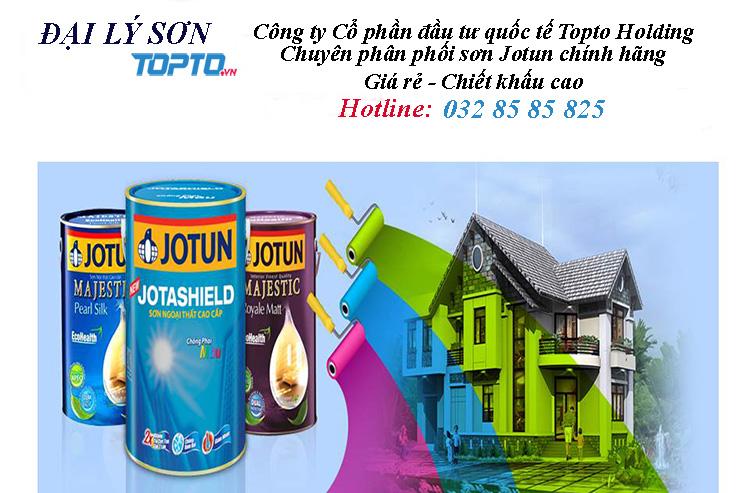 Topto đại lý phân phối sơn Jotun chính hãng tại Miền Bắc