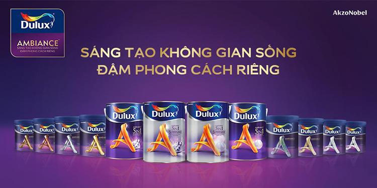 Những ưu điểm nổi bật của sơn nước Dulux