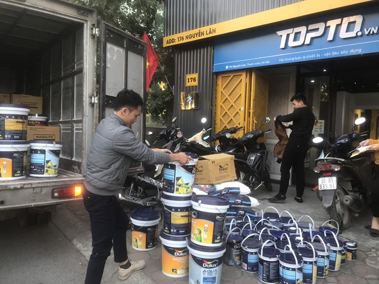 Topto đại lý sơn Dulux chính hãng tại Hà Nội