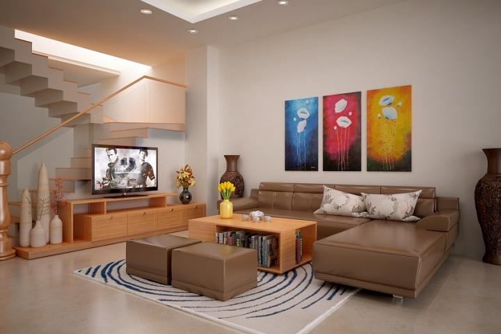 người có mệnh Thổ phù hợp với các màu sơn nhà : Nâu xám, vàng nhạt, vàng nâu, nâu đất hoặc màu hồng