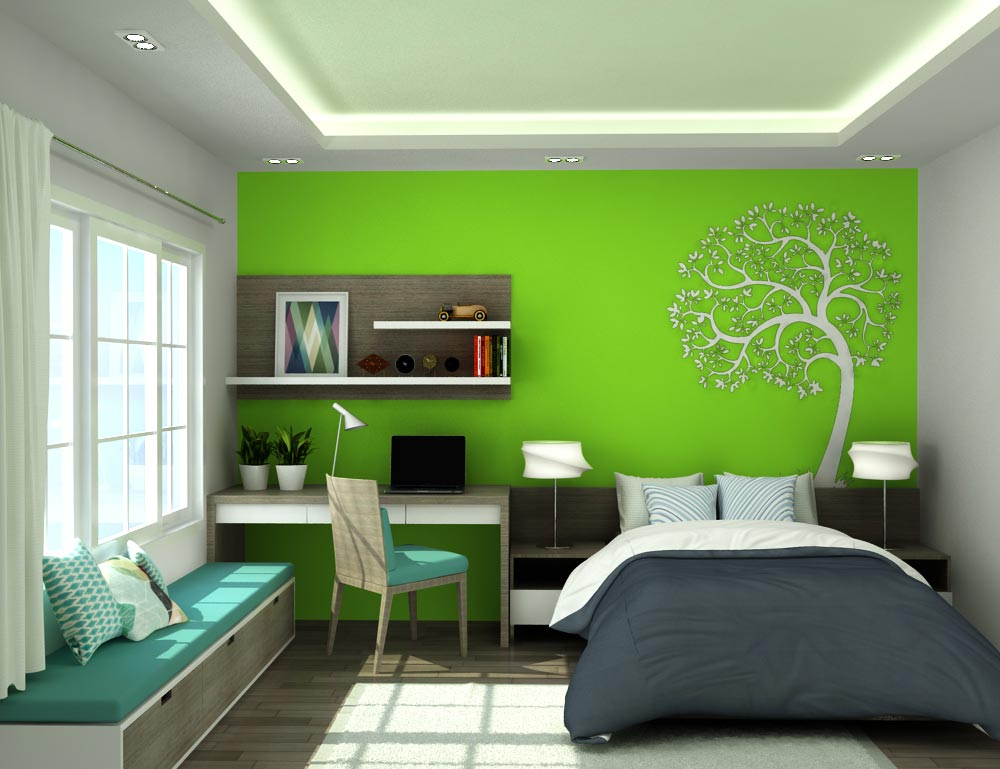 Những màu sắc sơn phù hợp với mệnh mộc: Màu đen, xanh dương, xanh dương nhạt, xanh lá cây