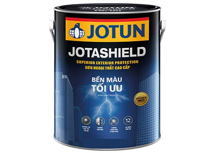 Sơn phủ ngoại thất Jotun Jotashield bền màu tối ưu