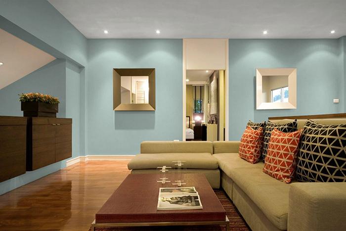 Nguyên tắc chọn màu sơn nhà