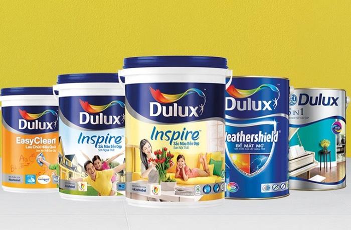 các loại sơn nhà tốt nhất hiện nay không thể không kể đến sơn Dulux