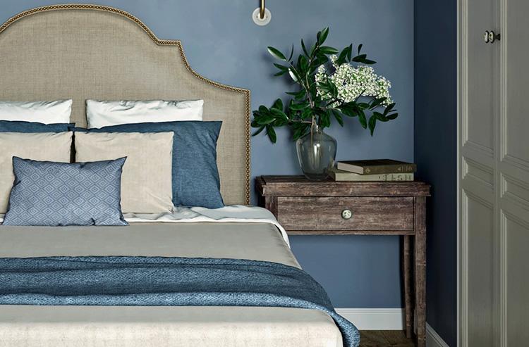 Phối màu sơn phòng ngủ