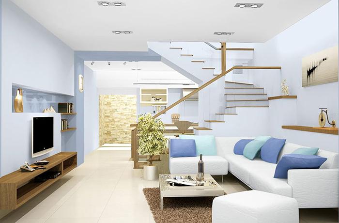 Phối màu sơn nội thất đẹp từ các chuyên gia