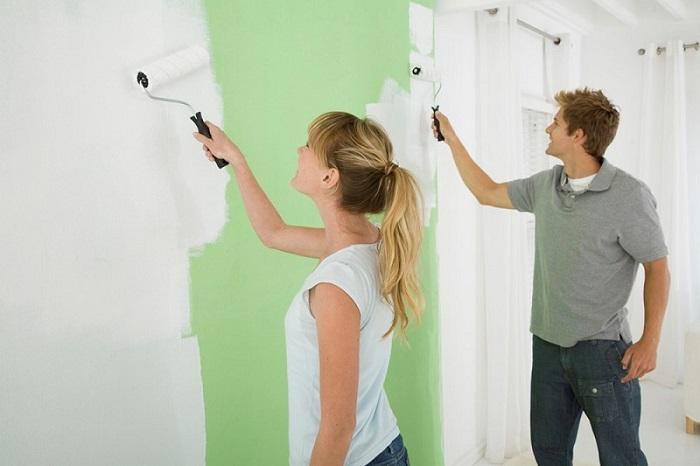 Chống thấm và chống rạn nứt cho tường nhà bằng sơn