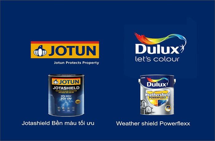 Hãy ưu tiên những loại sơn có chất lượng tốt như Jotun, Dulux